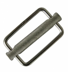 11207   WEBBING WEIGHT KEEPER ZEEPRO STAINLESS 316 SLIDING BAR 2 INCH  large