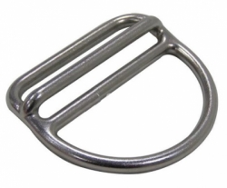 11217   WEBBING WEIGHT KEEPER ZEEPRO STAINLESS 316 DIRECT W DRING SIDE  large