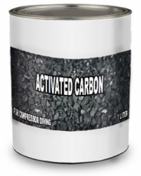 Activated carbon  large