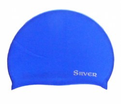 CAP SWIMMING SILVER BIG  large