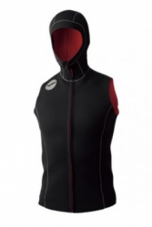 GW6627 HOOD VEST GULL FIR III 23MM MEN BALIDIVESHOP  large