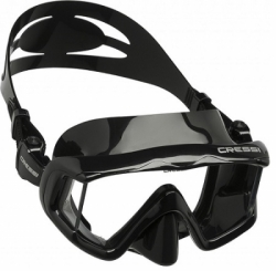 Mask Cressi Panoramik 3 Black Single Lens Bali Dive Shop  large