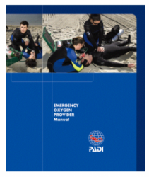 PADI Emergency Oxygen Provider Manual BAILIDIVESHOP  large