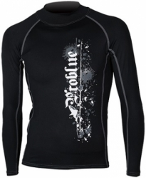 RW 564 BK1 RASH GUARD BALI DIVE SHOP  large