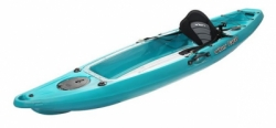 VUE 2   CANOE SINGLE BOTTOM GLASS TRANSPARENT  SEAT  PADDLE 279CM X 74CM balidiveshop 4  large