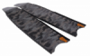 blade leaderfins fiber epoxy grey camo balidiveshop  medium