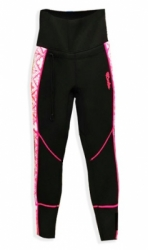 d GW 6431 Gull Pants 2mm Black Pink Kappa  large