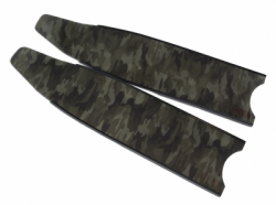 green camo stereoblades leaderfins 6  large