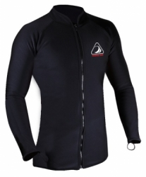 jacket diving shark skin balidiveshop  large