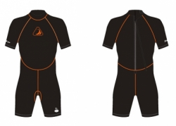 large SHORT WETSUIT ZEEPRO 3MM BALI DIVE SHOP 2