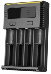 nitecore intellicharger universal battery charger 4 slot for li ion and nimh new i4  large