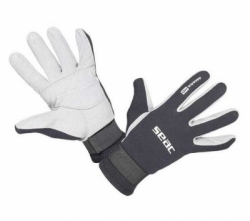seac amara hd gloves 1.5 mm  large