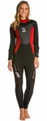 ws70 women wetsuit 3mm ist balidiveshop  large