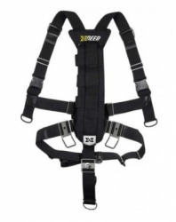 xdeep stealth 2.0 rec sidemount harness set balidiveshop 1  large